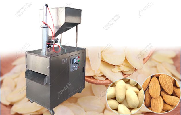Peanut Slice Cutting Machine|Almond Slice Cutter Machine