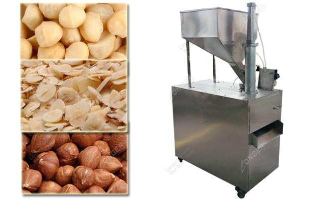 Hazelnut Kernel Slicer|Macadamia Nut Slicing Machine Stainless Steel