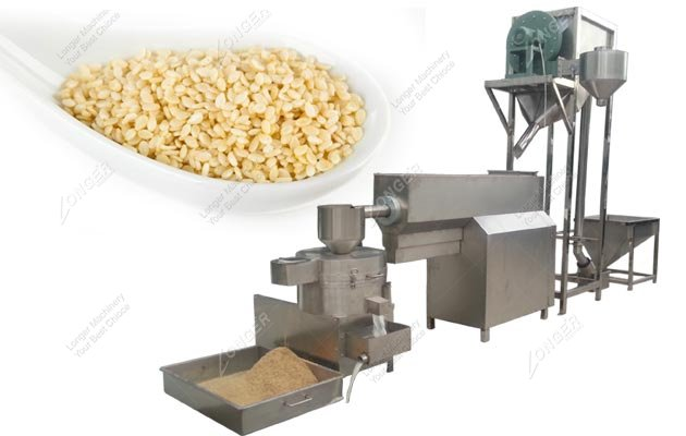 Industrial Sesame Seed Cleaning and Drying Process Line